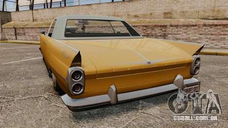Peyote 1950 para GTA 4 traseira esquerda vista