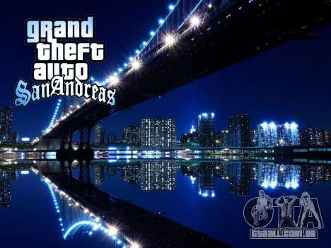 Loadscreens New-York para GTA San Andreas sétima tela