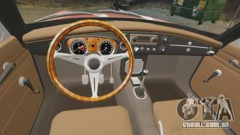 MG MGB GT 1965 para GTA 4 vista de volta