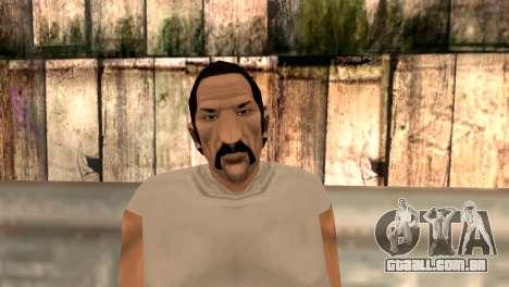 Umberto Robina para GTA San Andreas terceira tela