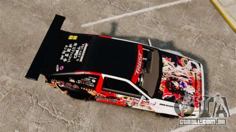 Toyota Corolla GT-S AE86 [EPM] Reimu Hakurei para GTA 4 vista direita