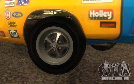 Dodge Charger RT 1969 para GTA San Andreas vista direita