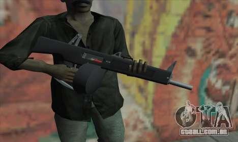 AA-12 para GTA San Andreas terceira tela