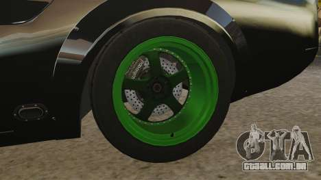 Ford Mustang RTRX para GTA 4 vista de volta