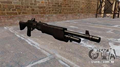 Tática espingarda Franchi SPAS-12 para GTA 4