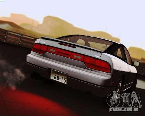Nissan 240SX S13 v1.0 para GTA San Andreas esquerda vista