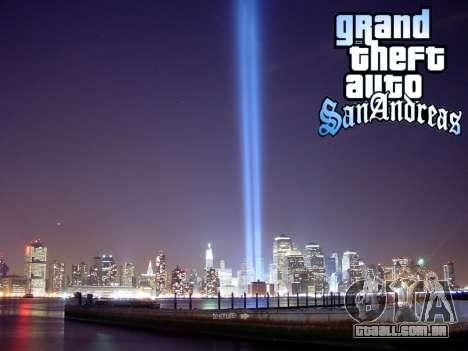 Loadscreens New-York para GTA San Andreas sexta tela