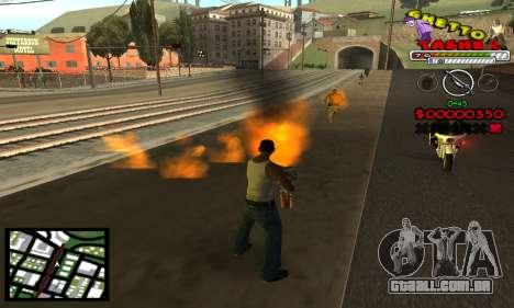 C-Hud Getto Tawer para GTA San Andreas terceira tela