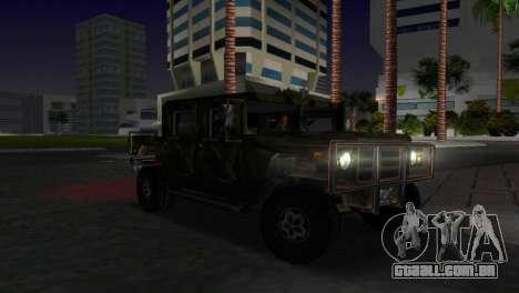 Textura patriota russo para GTA Vice City vista traseira esquerda