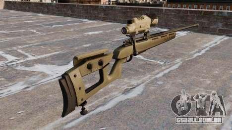 GOL sniper rifle Sniper Magnum para GTA 4 segundo screenshot
