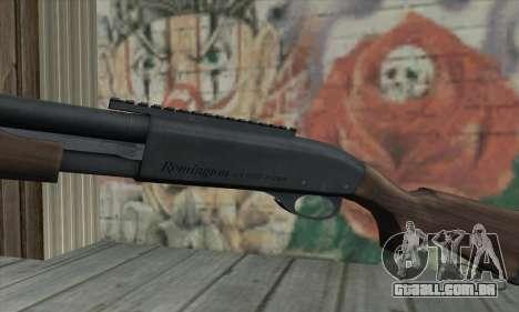 Remington 870 para GTA San Andreas terceira tela