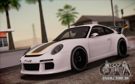 RUF RT12R para GTA San Andreas interior