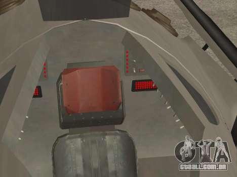 FARSCAPE modul para GTA San Andreas vista superior