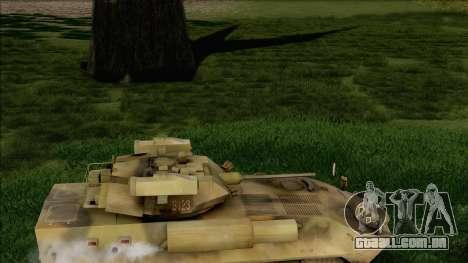 Camuflagem de floresta LAV-25 para GTA San Andreas vista direita