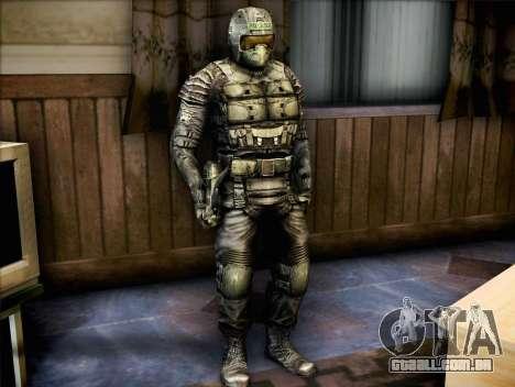 Forças armadas da chamada de Pripyat para GTA San Andreas segunda tela