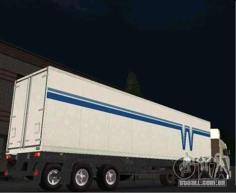 Odaz 9754 Isotherm para GTA San Andreas traseira esquerda vista