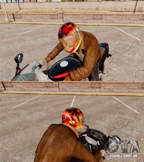 Capacetes de motociclista para GTA 4 segundo screenshot