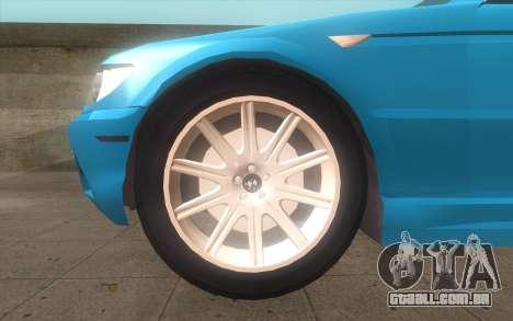 BMW 325Ci 2003 para GTA San Andreas traseira esquerda vista