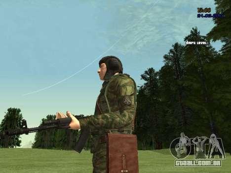 Tankman para GTA San Andreas oitavo tela