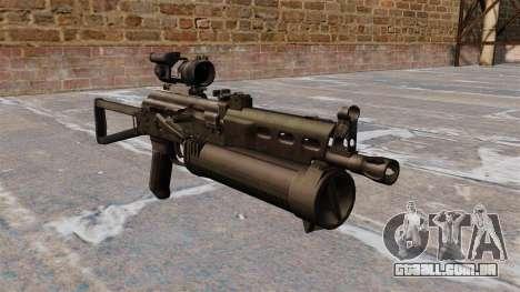 Submetralhadora pp-19 Bizon para GTA 4