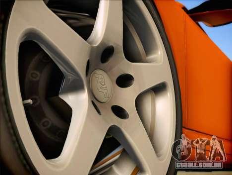 RUF RT12S para GTA San Andreas vista direita