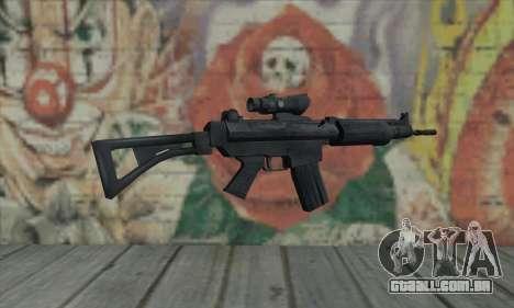 FN FNC para GTA San Andreas segunda tela