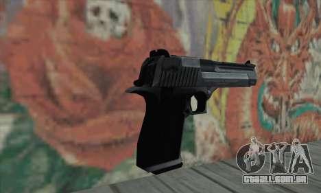 Acho que todos nós temos a águia negra para GTA San Andreas segunda tela