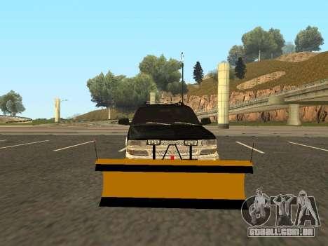 Chevrolet Suburban para GTA San Andreas esquerda vista