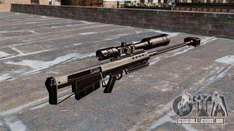 Barrett M95 rifle de sniper para GTA 4 segundo screenshot