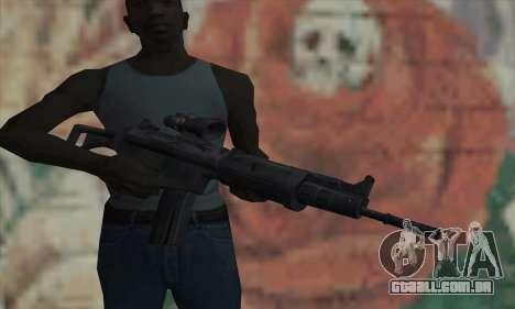 FN FNC para GTA San Andreas terceira tela