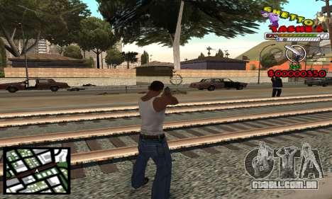 C-Hud Getto Tawer para GTA San Andreas
