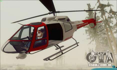 GTA V Ambulacia Maverick para GTA San Andreas