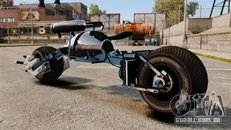 Bètmotocikl Bètpod para GTA 4 esquerda vista