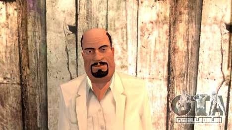 Joseph Clarence para GTA San Andreas terceira tela