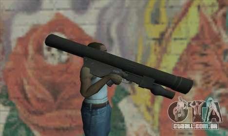 ATGM Launcher para GTA San Andreas terceira tela