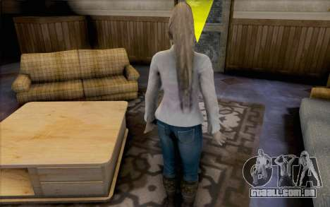 Sarah de Dead or Alive 5 para GTA San Andreas terceira tela