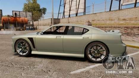 GTA V Bravado Buffalo STD8 para GTA 4 esquerda vista