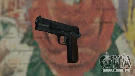 A arma do Fallout New Vegas para GTA San Andreas