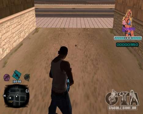 C-HUD Quintero para GTA San Andreas segunda tela