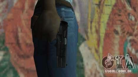 A arma do Fallout New Vegas para GTA San Andreas terceira tela