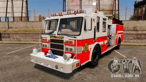 Firetruck Woonsocket [ELS] para GTA 4