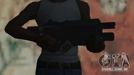 Rifle de Timeshift para GTA San Andreas terceira tela