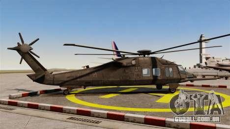 Sikorsky MH-X Silent Hawk [EPM] para GTA 4 esquerda vista