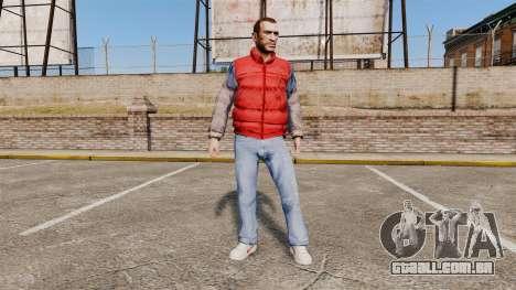 As roupas de volta para o futuro- para GTA 4