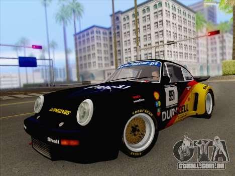 Porsche 911 RSR 3.3 skinpack 3 para GTA San Andreas