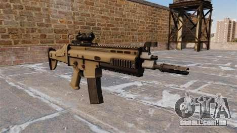 Automático FN SCAR-L para GTA 4