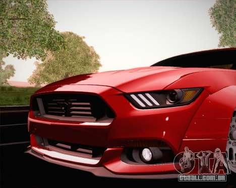 Ford Mustang Rocket Bunny 2015 para o motor de GTA San Andreas