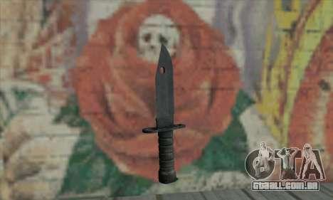 Knife para GTA San Andreas segunda tela