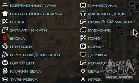 MFGTAFH v3.0 para GTA San Andreas segunda tela