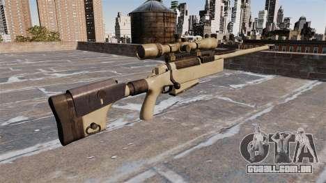 Rifle sniper McMillan TAC-50 para GTA 4 segundo screenshot